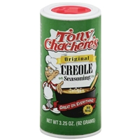 Tony Chachere's The Original Creole Seasoning 3.25oz.
