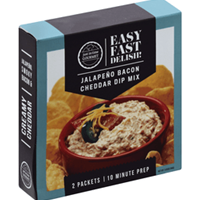 Just In Time Gourmet Jalapeno Bacon Cheddar Dip Mix