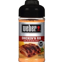 Weber Chicken'n Rib Seasoning -6 oz.