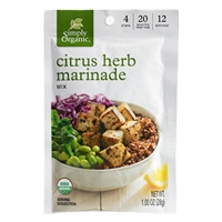 Simply Organic Citrus Herb Marinade Mix