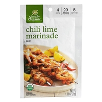 Simply Organic Chili Lime Marinade Mix