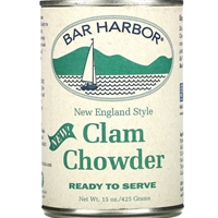 Bar Harbor New England Style All Natural Clam Chowder