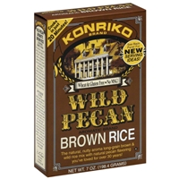 Konriko Brand Wild Pecan Brown Rice