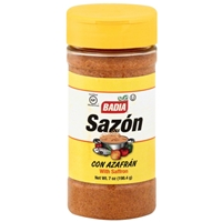 Badia Sazon With Saffron Seasoning