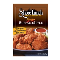 "Shore Lunch Spicy Buffalo Style Chicken Breading Mix - ""Best By"" August 15, 2019"