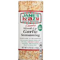Jane's Krazy Chunky Mixed-Up Garlic Seasoning