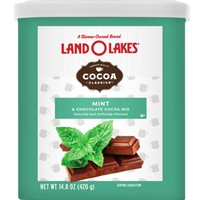 Land O Lakes Mint & Chocolate Hot Cocoa Mix - 14.8 oz