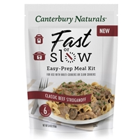 Canterbury Naturals Fast or Slow Classic Beef Stroganoff