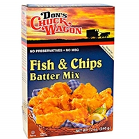 Don's Chuck Wagon Fish and Chips Batter Mix