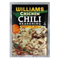 Williams Chicken Chili Seasoning