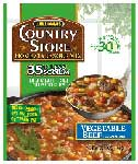 Williams Country Store Lower Sodium Vegetable Beef Soup