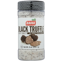 Badia Black Truffle Sea Salt