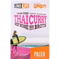Lonolife Thai Curry Beef Bone Broth Stick Packs