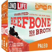 Lonolife Grass Fed Beef Bone Broth Single Serve K-Cups