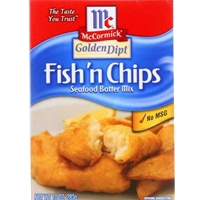 McCormick Golden Dipt Fish n' Chips Seafood Batter Mix