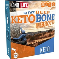 Lonolife Keto Beef Bone Broth Stick Packs