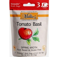 Millie's Tomato Basil Plant Based Sipping Broth