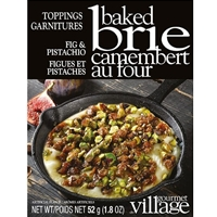 Gourmet du Village Fig & Pistachio Baked Brie Topping
