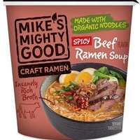 Mike's Mighty Good Spicy Beef Craft Ramen Soup