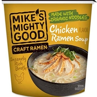 Mike's Mighty Good Chicken Flavor Craft Ramen Soup