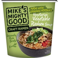 Mike's Mighty Good Vegetarian Vegetable Craft Ramen Soup