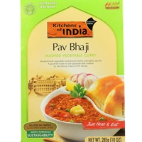 Kitchens of India Pav Bhaji Mashed Vegetable Curry Dinner