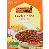 Kitchens of India Pindi Chana Chick Peas Curry Dinner