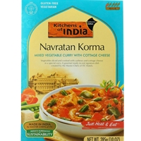 Kitchens of India Navratan Korma Vegetable Curry & Cottage Cheese Dinner Mix