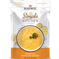 Simple Kitchen Cheesy Potato Soup