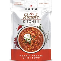 Simple Kitchen Hearty Veggie Chili Soup