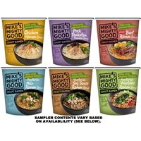 Mike's Mighty Good Craft Ramen Soup Cup Sampler