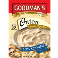 Goodman's Low Sodium Onion Soup & Dip Mix