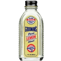 Goodman's Pure Lemon Extract - 1 oz