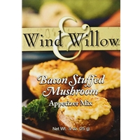 Wind & Willow Bacon Stuffed Mushroom Cheeseball & Appetizer Mix