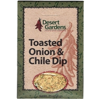 Desert Gardens Toasted Onion & Chile Dip Mix
